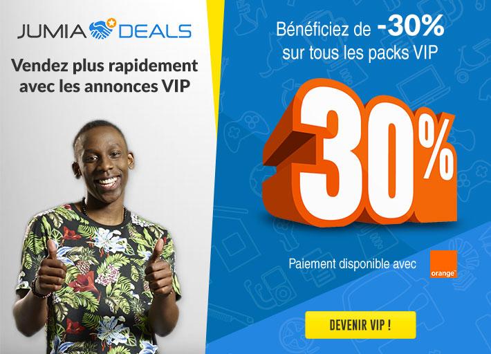 Devenez VIP sur Jumia Deals